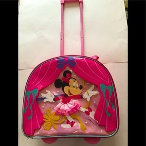 Disney Store Minnie Mouse Compact Case, GUC
